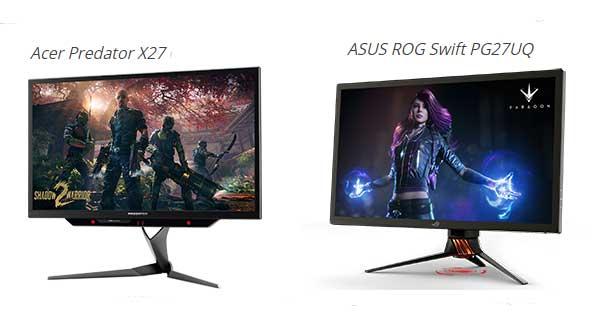 GSync HDR monitors