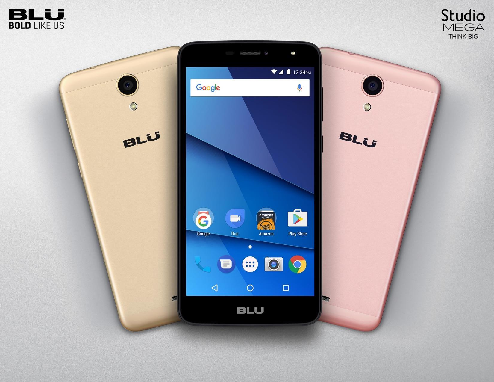 Blu Studio Mega with 6-inch Display and Android 7.0 Nougat ...