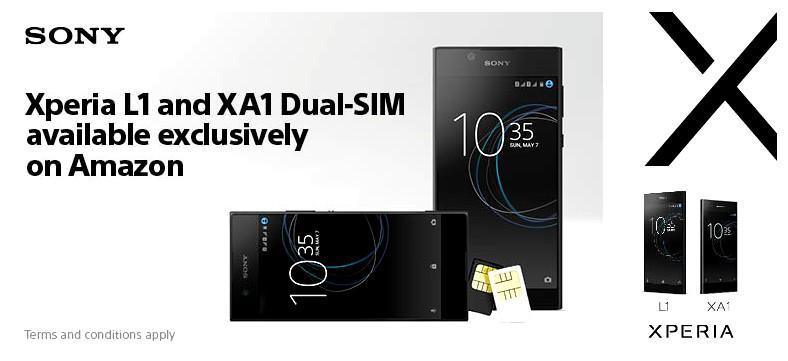Dual SIM Sony Xperia XA1