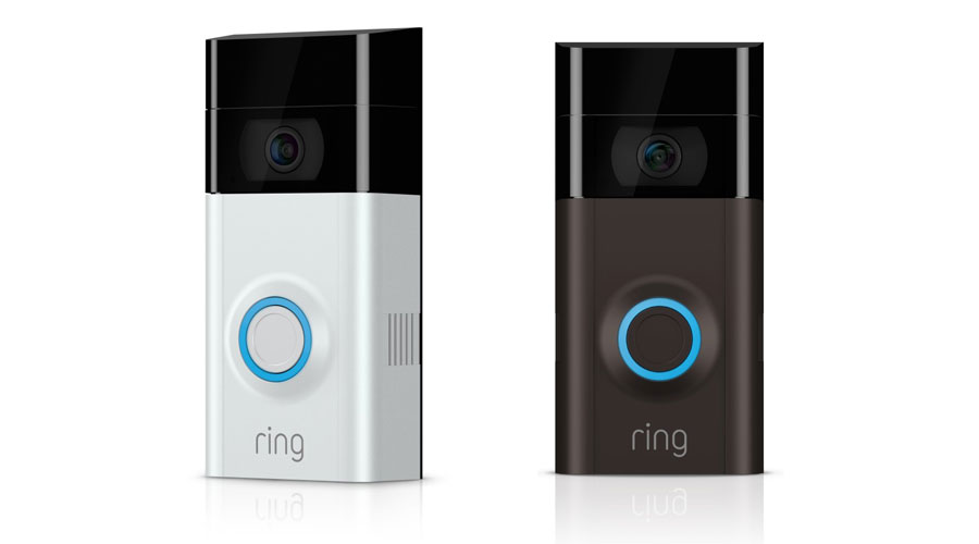 ring video doorbell 2 doorbell security camera with 1080p. Black Bedroom Furniture Sets. Home Design Ideas
