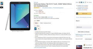 Samsung Galaxy Tab S3 Amazon
