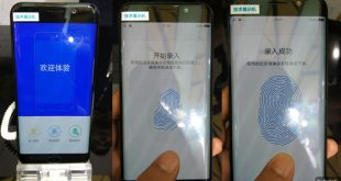 Vivo Under Display Fingerprint Scanning Solution