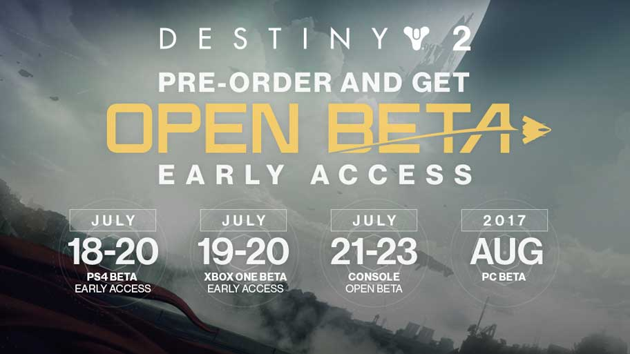 Destiny 2 Open Beta