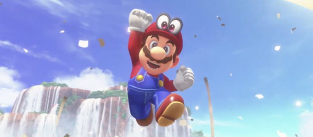No Game Over screen Super Mario Odyssey