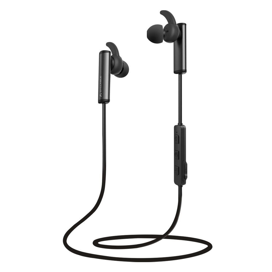 syllable d300l bluetooth earbuds for workout with big discount. Black Bedroom Furniture Sets. Home Design Ideas