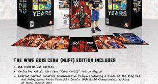 WWE 2K18 John Cena (Nuff) Collector's Edition