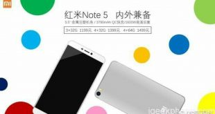 Xiaomi Redmi Note 5 price