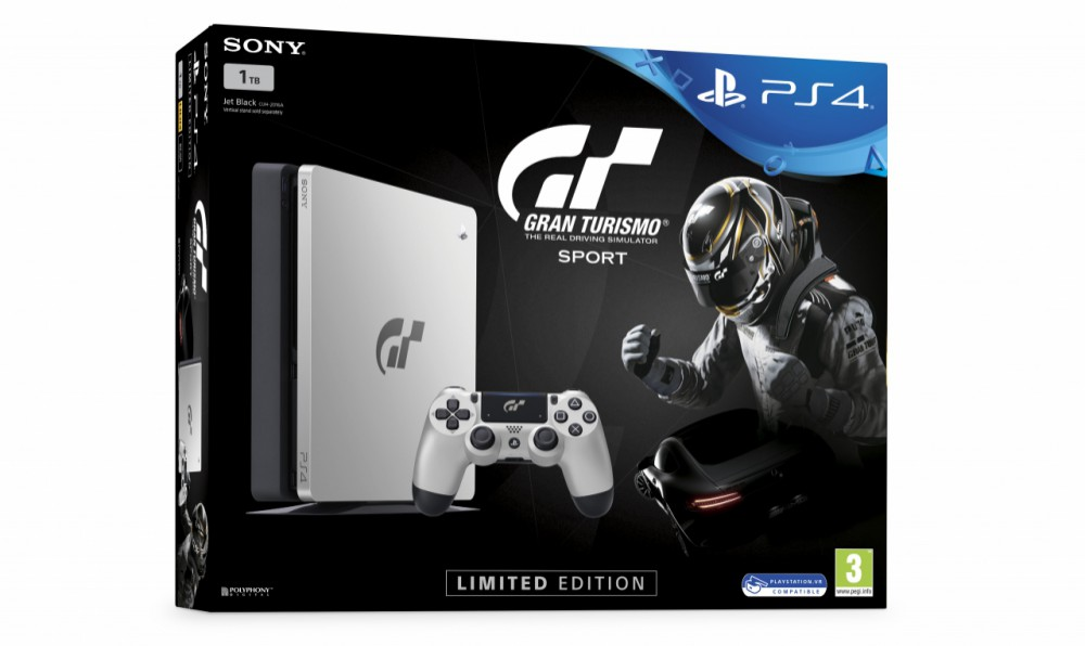limited edition gran turismo sport playstation 4 console. Black Bedroom Furniture Sets. Home Design Ideas