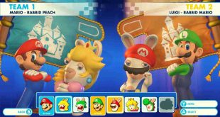 Mario + Rabbids Kingdom Battle Gameplay Video