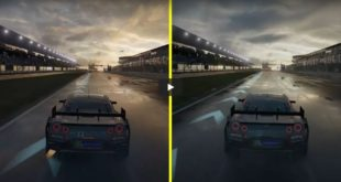 Forza 7 Xbox One X and Xbox One S Graphics Comparison Video