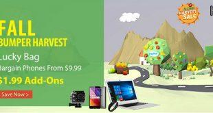 GearBest Super September Bumper Harvest Sale With Flash Sale Deals and Giveaways