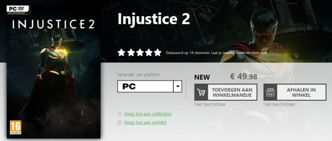 Injustice 2 PC game mania