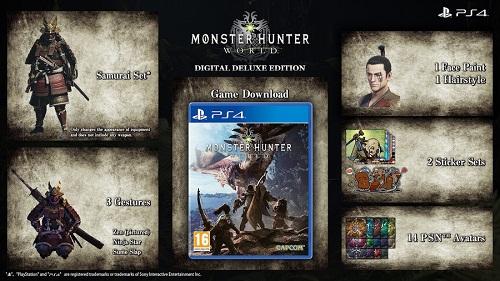 Monster Hunter World bonuses
