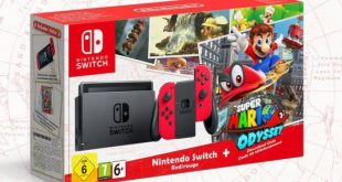 Super Mario Odyssey Nintendo Switch Bundle