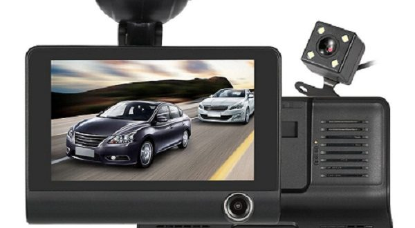 KKMOON Car DVR Dash Cam with Three Lens System on Sale at ...