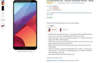 lg g6 32gb amazon
