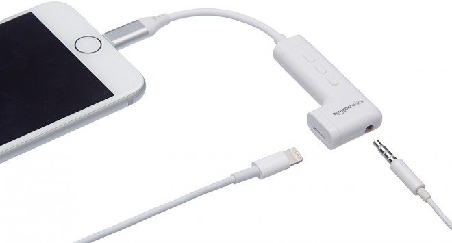 Lighting to 3.5mm headphone jack Adapter for iphone