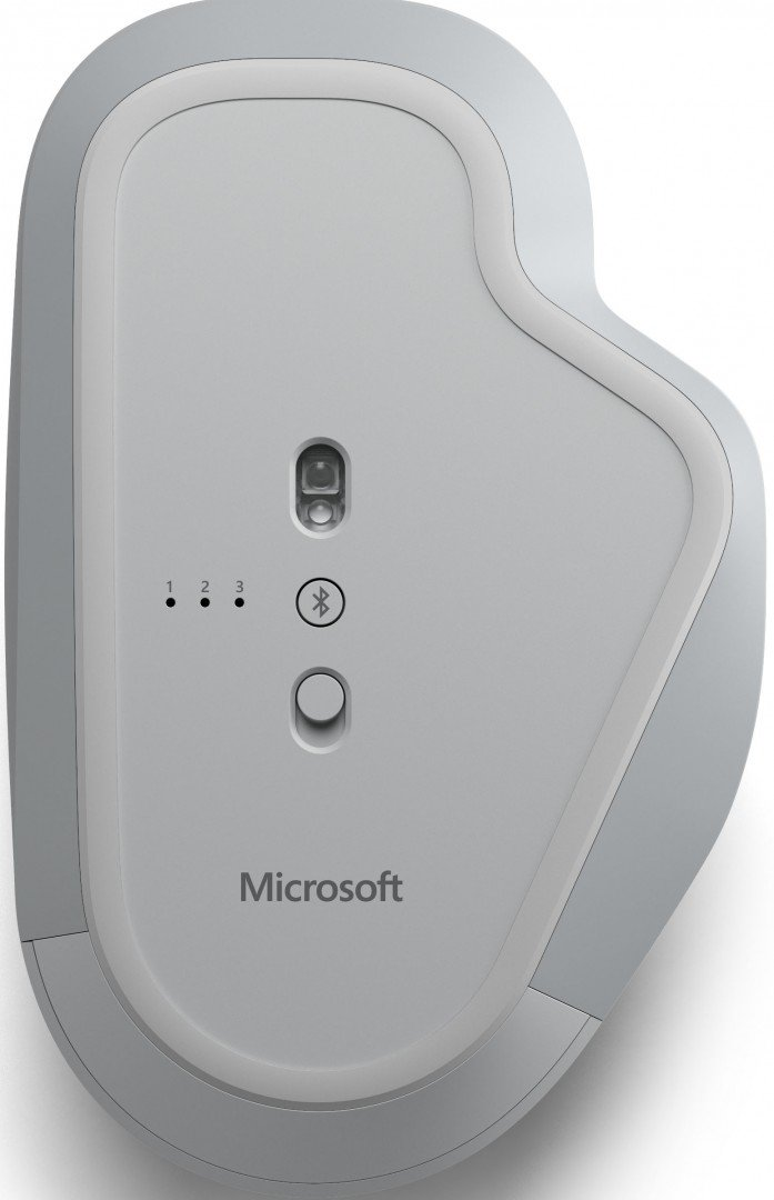 Microsoft Launches Surface Precision Mouse Can Control 3 Pcs At Same Time