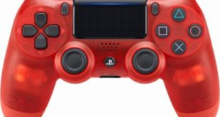 Red Crystal DualShock 4 Controllers for PlayStation 4