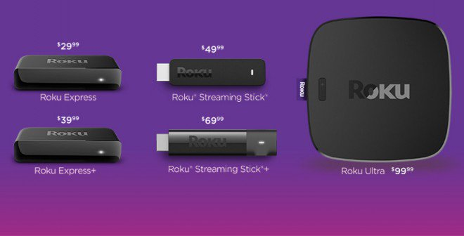 roku tv sticks