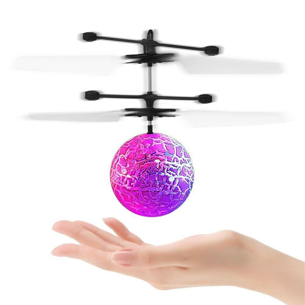 Flash Flying Ball Toy