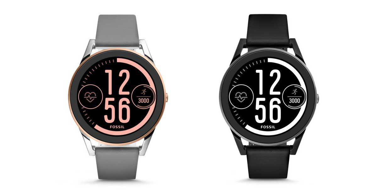 Fossil Q Control Android wear 2.0