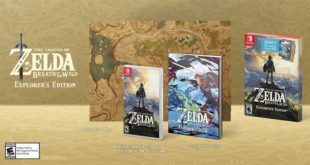The Legend of Zelda Breath of the Wild Explorer's Edition
