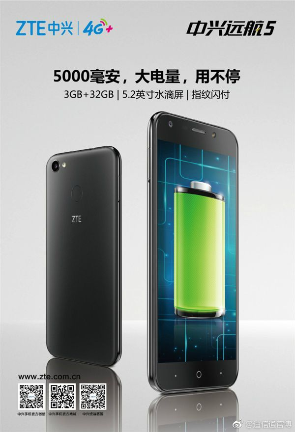 ZTE Voyage 5 Specifications