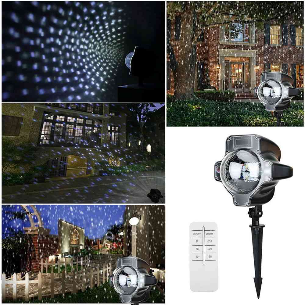 christmas snowfall led lights