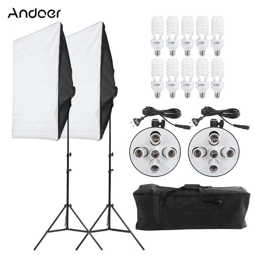 Andoer Photography Lighting Kit