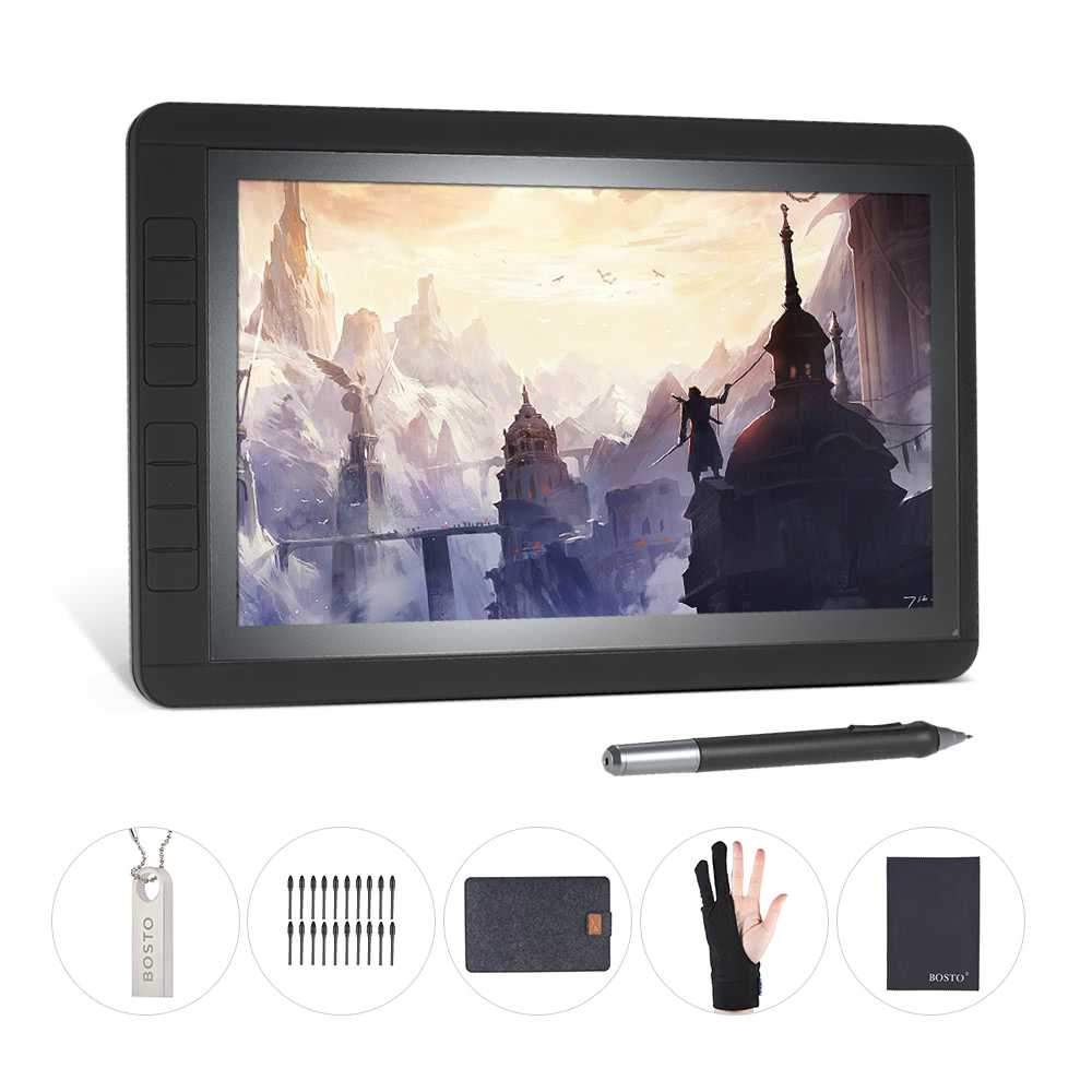 BOSTO Graphic Digital Drawing Tablet