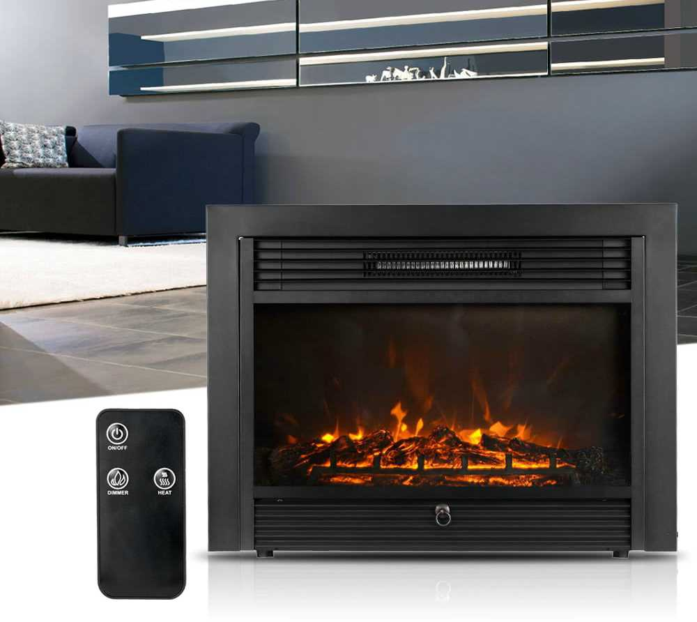 Get The Most Efficient Homgeek Electric Heater Fireplace On Flash Sale For