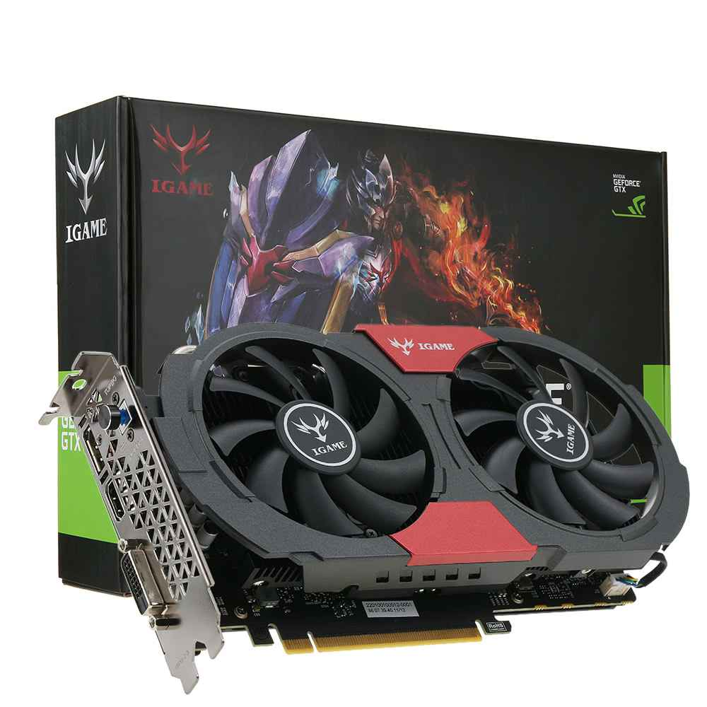 Nvidia Geforce GTX 1050 Ti graphics card