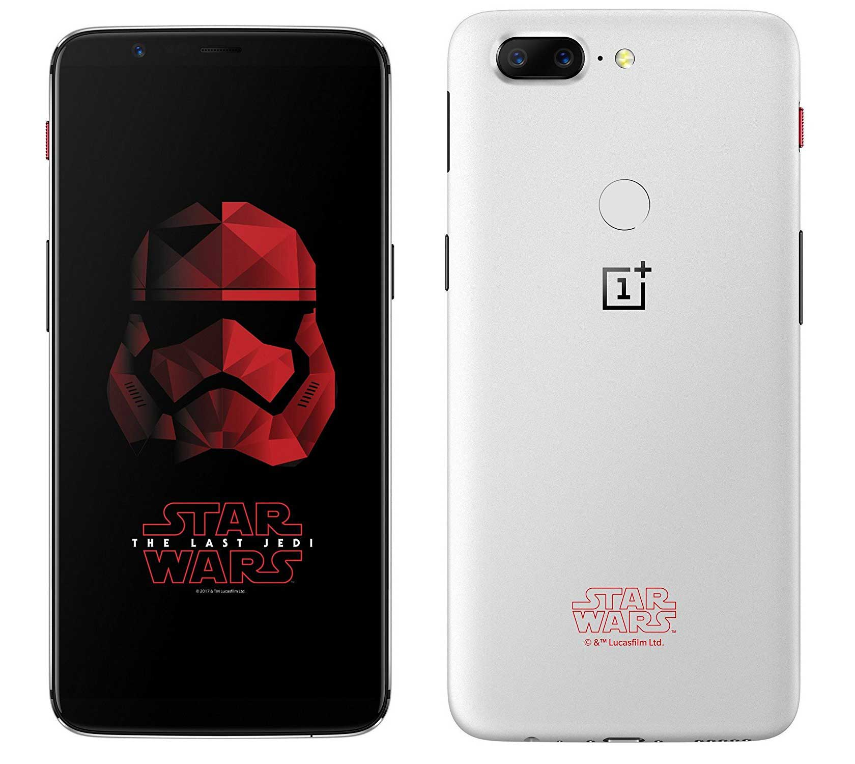 OnePlus 5T Star Wars Limited Edition Price in India