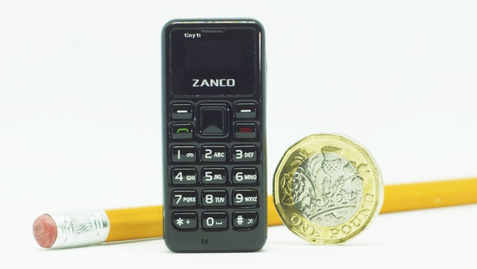 Zanco Tiny T1 is World's Smallest Mobile Phone