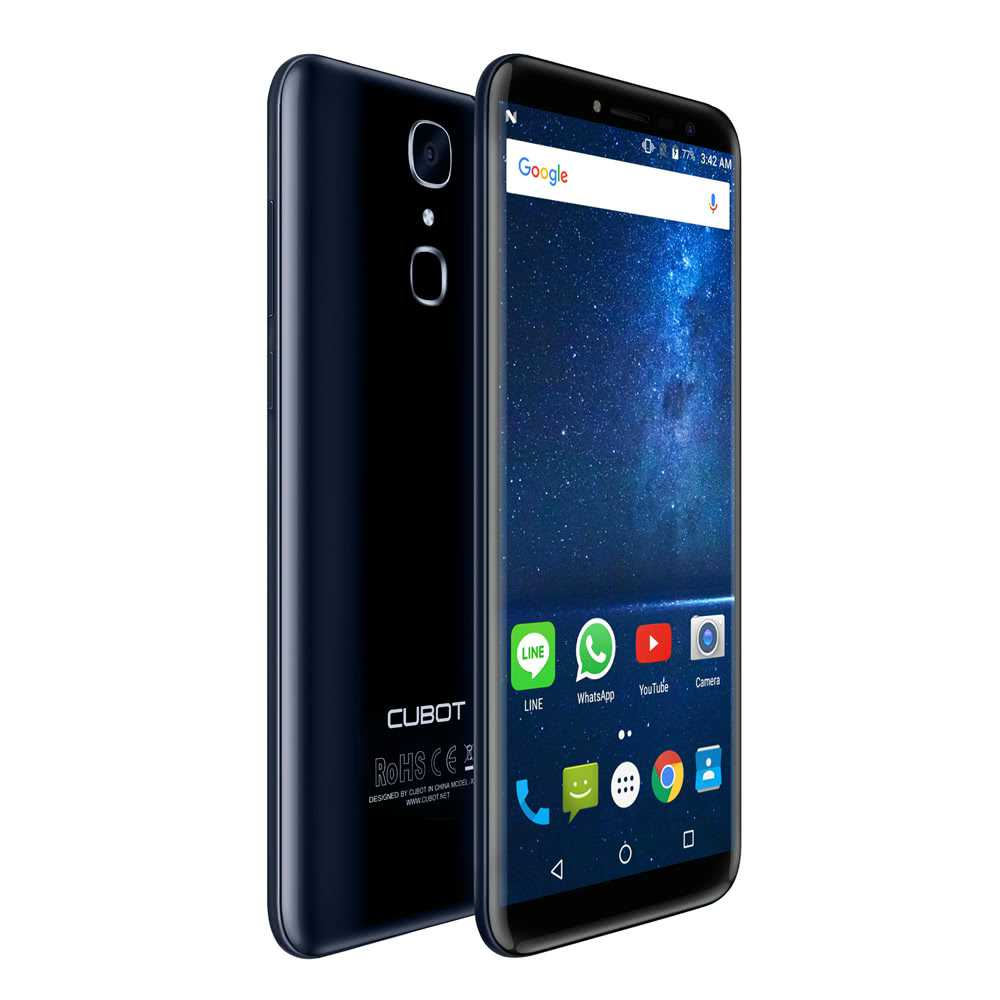 cubot x18 specifications