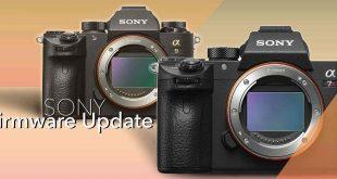 sony mirrorless camera updates