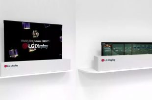 LG Rollable TV OLED Display