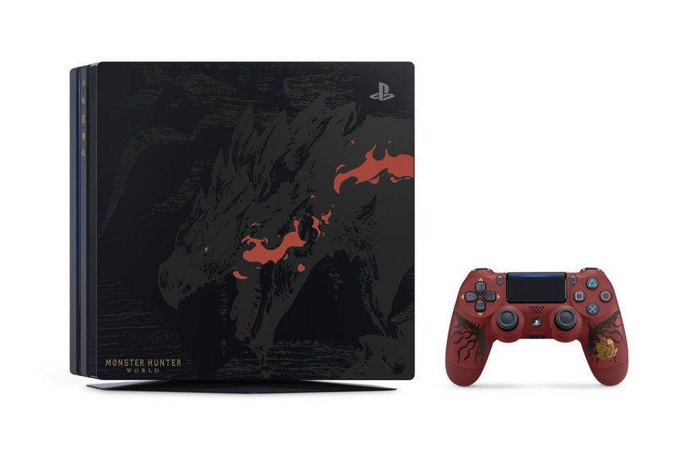 Monster Hunter World PS4 Pro
