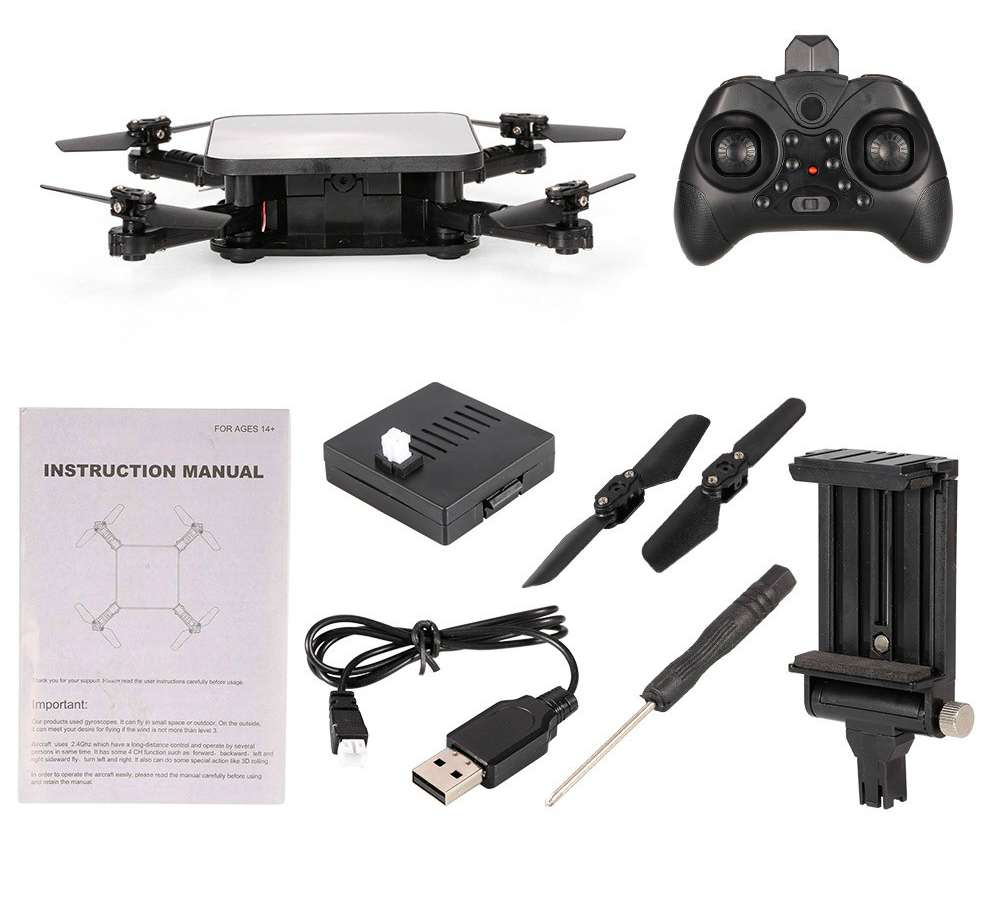 SMRC S1 Foldable Drone RC Quadcopter