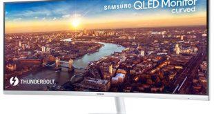 Samsung CJ791 QLED Monitor