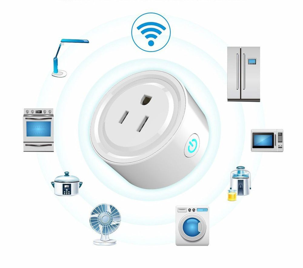 Wifi smart outlet plugs