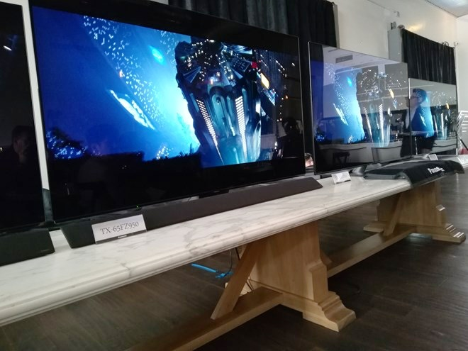 panasonic oled tv 2018