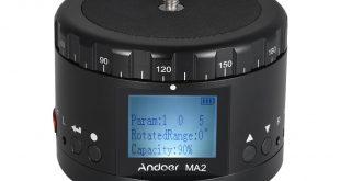 Andoer MA2 Electric Panoramic Tripod Head