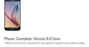 Galaxy s6 android oreo