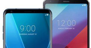 LG V30 LG G6 Android 8.1 Oreo