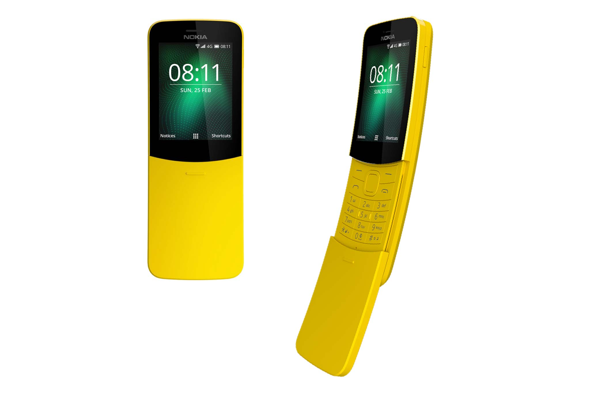 nokia 8110 4g feature phone official at mwc 2018 price