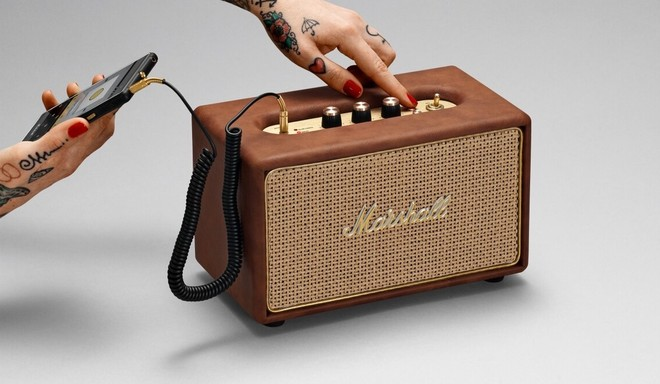 Marshall Action Tawny Bluetooth Speaker