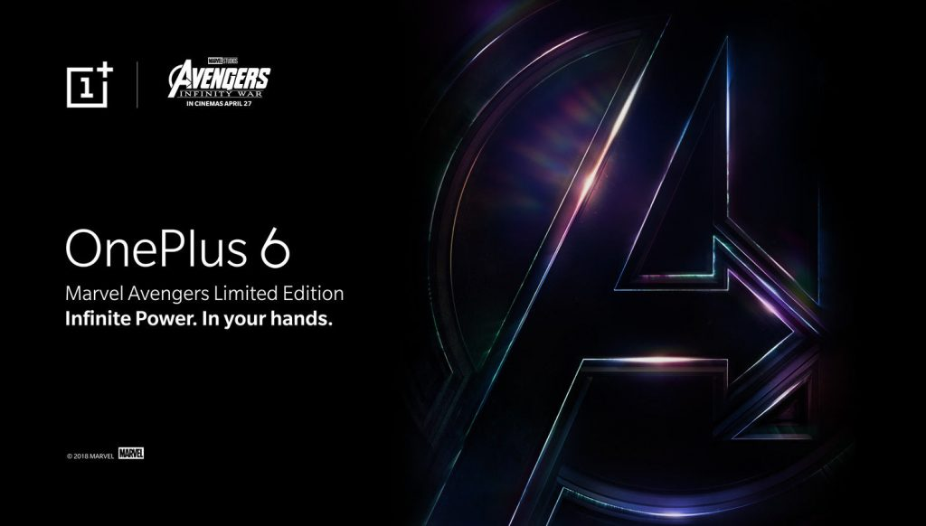 OnePlus 6x Marvel Avengers Edition