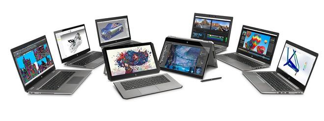 hp ZBook Studio and ZBook laptops